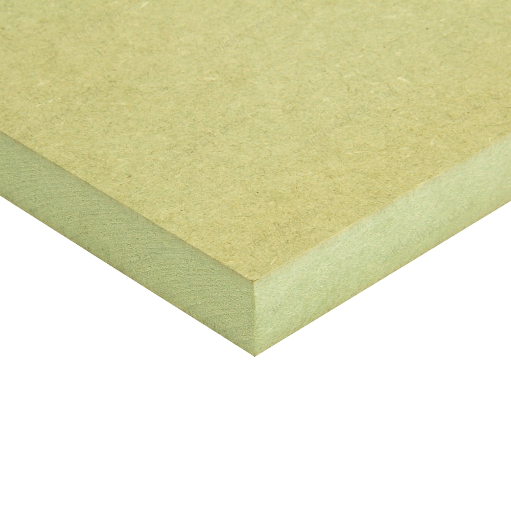 6.0mm FSC Certified Moisture Resistant (EN622-H1) MDF 2440x1220 8ft x 4 ft Cut to Size UK Delivery